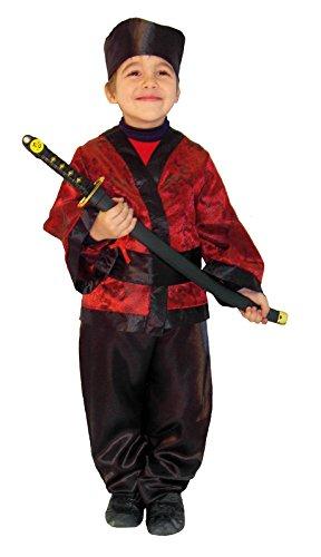 Imagen de disfraz samurai infantil talla de 8 a 10 años