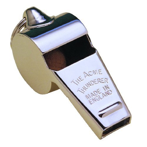 ACME Thunderer 60.5 Metal Official Referee Whistle