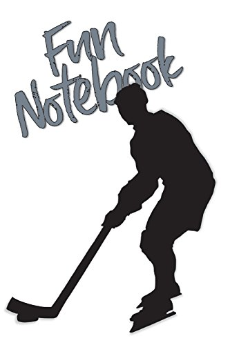 Fun Notebook: Boys Books - Mini Composition Notebook - Ages 6 -12  - Ice Hockey por Simple Planners and Journals