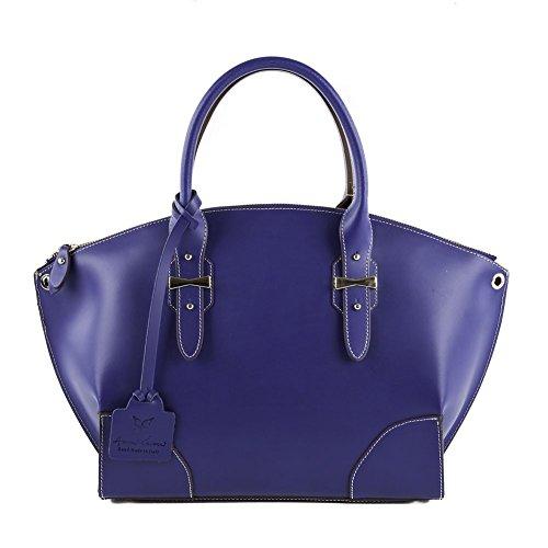 Shoulder-bag-Alyssa-Blue-leather