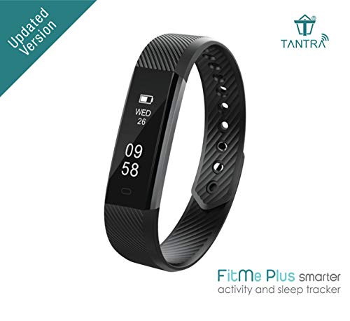 TANTRA FitMe Plus Smart Band Activity IP67 Waterproof Fitness Tracker with Touch Screen