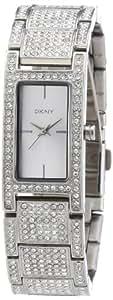 DKNY Damen-Armbanduhr Analog Quarz Edelstahl NY8730