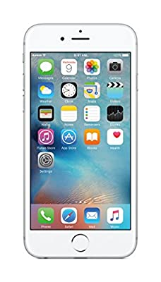 (CERTIFIED REFURBISHED) Apple iPhone 6S MKQY2LL/A (Silver, 16GB)