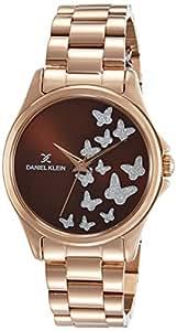 Daniel Klein Analog Brown Dial Women's Watch-DK11466-4