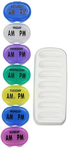 Tray Dispenser (Apex Pocket Med Pack With 7-Day Tray 2.3 x 4.1 x 8.5 inches)