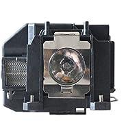 CTLAMP Remplacement de lampe de projecteur pour EB-S02/EB-S11/EB-S12/EB-SXW11/EB-SXW12/EB-W02/EB-W12/EB-X02/EB-X11/EB-X12/EB-X14/EB-X15/EH-TW480/EX3210/EX5210/EX7210/MG-50/MG-850HD/PowerLite 1221/PowerLite 1261W/EB-W110/EB-X14G/EB-W01/EB-S01/EB-S110/EB-C20X/EB-C45W/EB-C05S/EB-C26SH/EB-C26XE/EB-C28SH/EB-C30XE