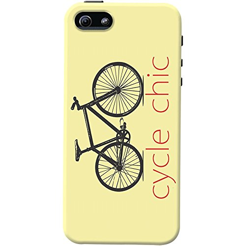 DailyObjects Cycle Chic Case For iPhone SE (Cycle Chic)