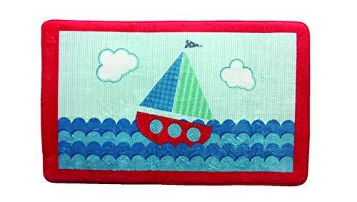 Borders Unlimited Ahoy!Sailboat Bathmat Multi -