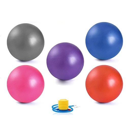 Massage-lehr-dvd (Yoga-L YB- Fitness-Ball: Fünf-Stück, 10 Zoll / 25 cm Durchmesser, enthält 5 Bälle + 1 Pumpe + 1 Seite Handbuch. Es gibt Keine Lehr DVD. (größe : 20cm))
