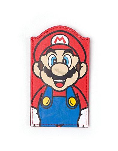 Preisvergleich Produktbild Super Mario Wallet Mario Shaped Card Red