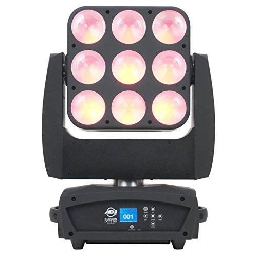 Illusion Dotz 3.3, Moving Head 9 x 30 Watt TRI RGB COB LED