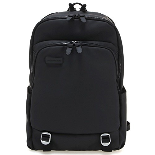 mandarina-duck-unisex-touch-duck-pvt08-casual-backpack-school-bag-laptop-storage-key-ring-black