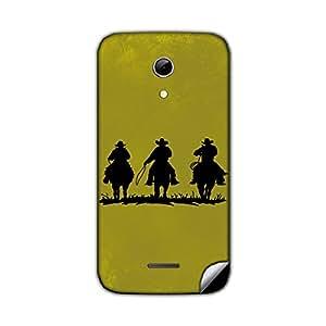 Skintice Designer Mobile Back Skin Sticker for Micromax Canvas 2.2 A114