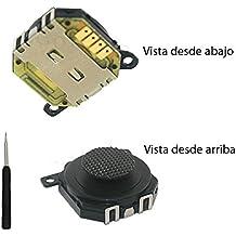Fologar Joystick PSP 1000 Stick Consola PSP 1000 Botón Mando PSP Negro Stick Analógico