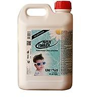 IVER-YMBER®: Súper Antialgas Hibernador Orgánico. Protector para la conservación del agua de piscinas y la instalación. Botella 5 Lt