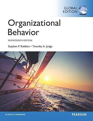 Organizational Behavior, 17Th Edn
