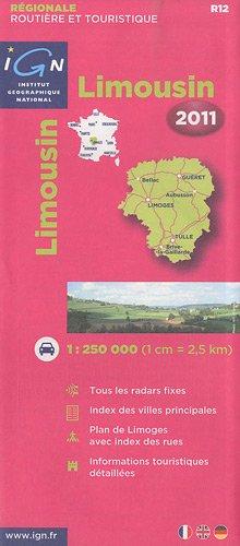 R12 Limousin 2011 1/250.000