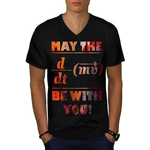 obliger-les-maths-formule-film-homme-nouveau-noir-l-t-shirt-wellcoda