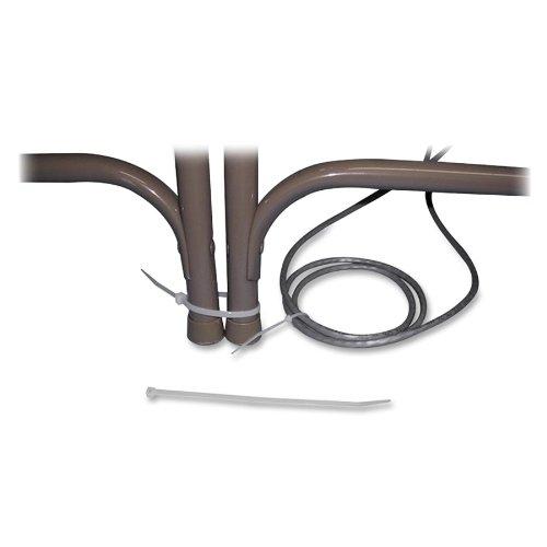 Tamper-Proof Nylon Cable Ties, 8 x 3/16, 1000 Ties/Pack