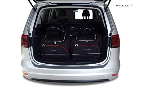 AUTO TASCHEN SETS VW SHARAN, II, 2010- CAR FIT BAGS