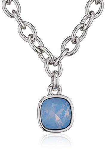 t Anhänger CRYSTAL SHADES Halskette Kristall blau 45 cm-UBN61059 (Rosa Ohrringe Mod)