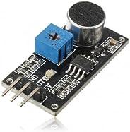 Hohe Klangqualität Erkennung Sensormodul LM393 Chip Elektret-Mikrofon für Arduino
