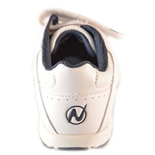 Naturino - Naturino Chaussures De Sport petit Garçon Blanc Velcro Sport 365 Blanc