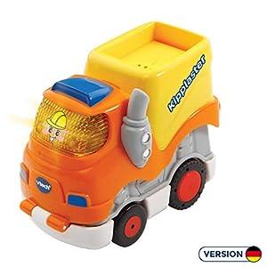 VTech 80-500504 vehículo de Juguete - Vehículos de Juguete (Azul, Gris, Naranja, Amarillo, 1 año(s), 5 año(s), Niño, Interior, 180 g)