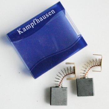 Kohlebürsten Kohlestifte 7x17x18 mm für Metabo Kreissäge Tischkreissäge TS 250, Elektra Beckum KS 250