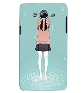 Citydreamz Lonely Girl Hard Polycarbonate Designer Back Case Cover For Samsung Galaxy J2 2016 Edition