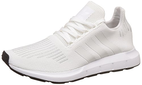 adidas Unisex-Erwachsene Swift Run Laufschuhe, Weiß (Footwear White/Crystal White/Core Black), 37 1/3 EU