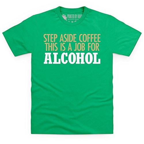 Step Aside Coffee T-Shirt, Herren Keltisch-Grn