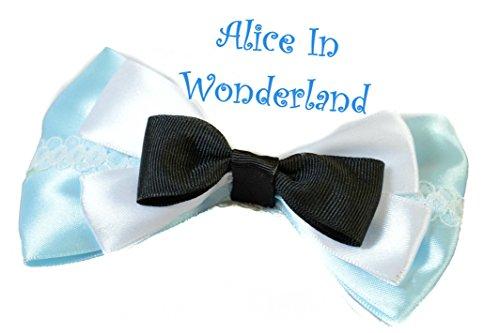 (Disney Alice in Wonderland Princess Schleife Clip Slide Haarspange, Zubehör)