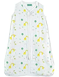 Saco de Dormir para bebé de Muselina Premium. Súper Suave y