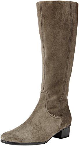 Gabor Shoes 55.608, Stivali Alti Donna, Grigio (Lupo 10), 37.5 EU