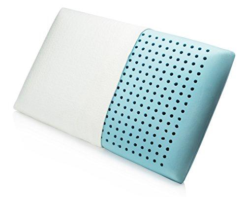 Lujosa Almohada Viscoelástica con Gel con Memoria (Memory Foam) Fabricada por MemorySoft con Orificios de Ventilación y una Cubierta Superior de Bambú - Satisfacción Garantizada