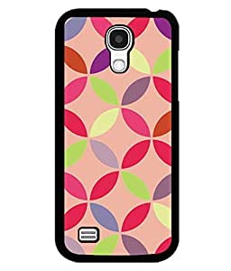 printtech Pattern Circular Back Case Cover for Samsung Galaxy S4 Mini::Samsung Galaxy S4 Mini i9190