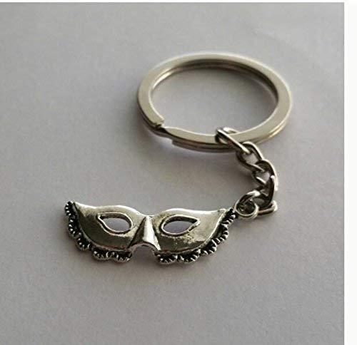 Marti Gras Masken - Maskenmasken-Schlüsselanhänger, Masken-Schlüsselanhänger, Maskenabschluss, Marti-Gras-Schlüsselanhänger, Masken-Reißverschluss, einzigartige