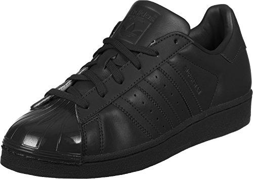 adidas Superstar Glossy, Scarpe da Basket Donna Nero