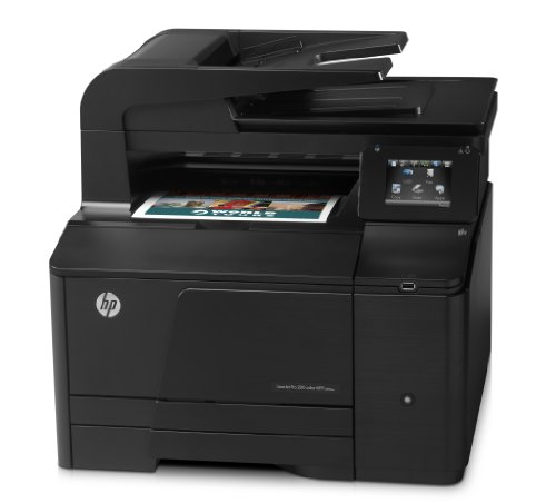 HP LaserJet Pro 200 M276n e-All-in-One Farblaser Multifunktionsdrucker (A4, Drucker, Scanner, Kopierer, Fax, Ethernet, USB, 600x600) (Drucker In Laser All One Mit Fax)