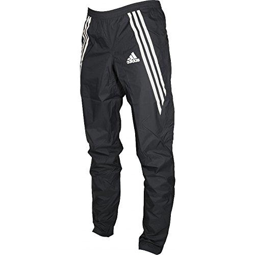 Damen-Regen-Laufhose von Adidas Adizero, schwarz XS Schwarz