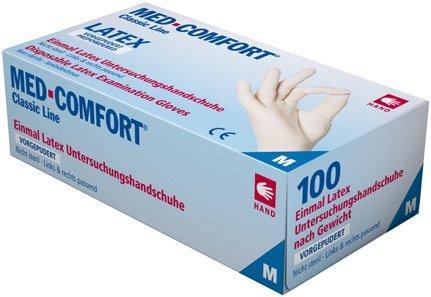 MED comfort látex vorgepudert
