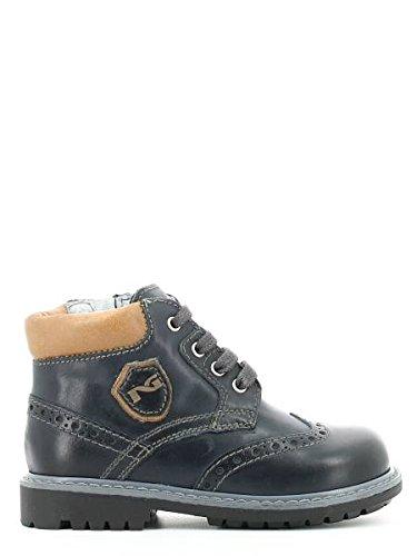 Nero Giardini Junior, Chaussures Premiers Pas pour bébé (garçon) Bleu Blu - Bleu - Musk Blu, 25 EU