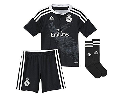 adidas - Maillots - Mini-ensemble Real Madrid Replica Troisieme tenue - Noir - 2-3A