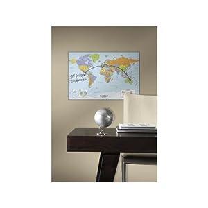 Room – Poster Mapa Mundo para rotulador borrable
