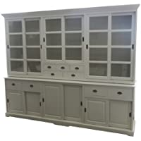 Comparador de precios Casa-Padrino Big Shabby Chic cottage style cabinet with 6 doors and 9 drawers of buffet cabinet - cabinet room - precios baratos