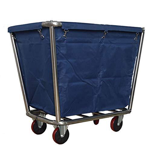 HH- Wäschesortierer Wäschekorb Mit Entfernbaren Gewebebeuteln, Großer Faltbarer Wäschewagen-Wagen for Badezimmer-Schlafzimmer-Haus, Wäscherei-Sortierer Auf Rädern -