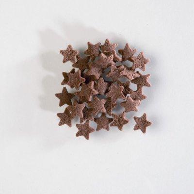 Brown Mini Star Sugar Sprinkles 50g