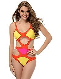 SZIVYSHI ein Stück Damen Badeanzug Bikini