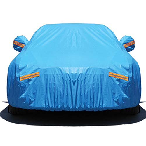 Mmyunx Imperméables Toutes Les Couvertures De Voiture De Temps, Protection De Pluie De Sun pour des Automobiles Intérieur Extérieur Personnalisable,BMW(Custom)